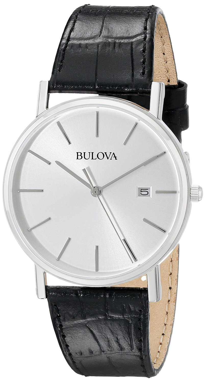 Bulova Men's 96B104 Silver Dial Dress Watch (1)