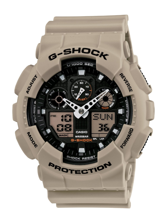 Casio Men's GA100SD-8A G-Shock Military Watch (1)
