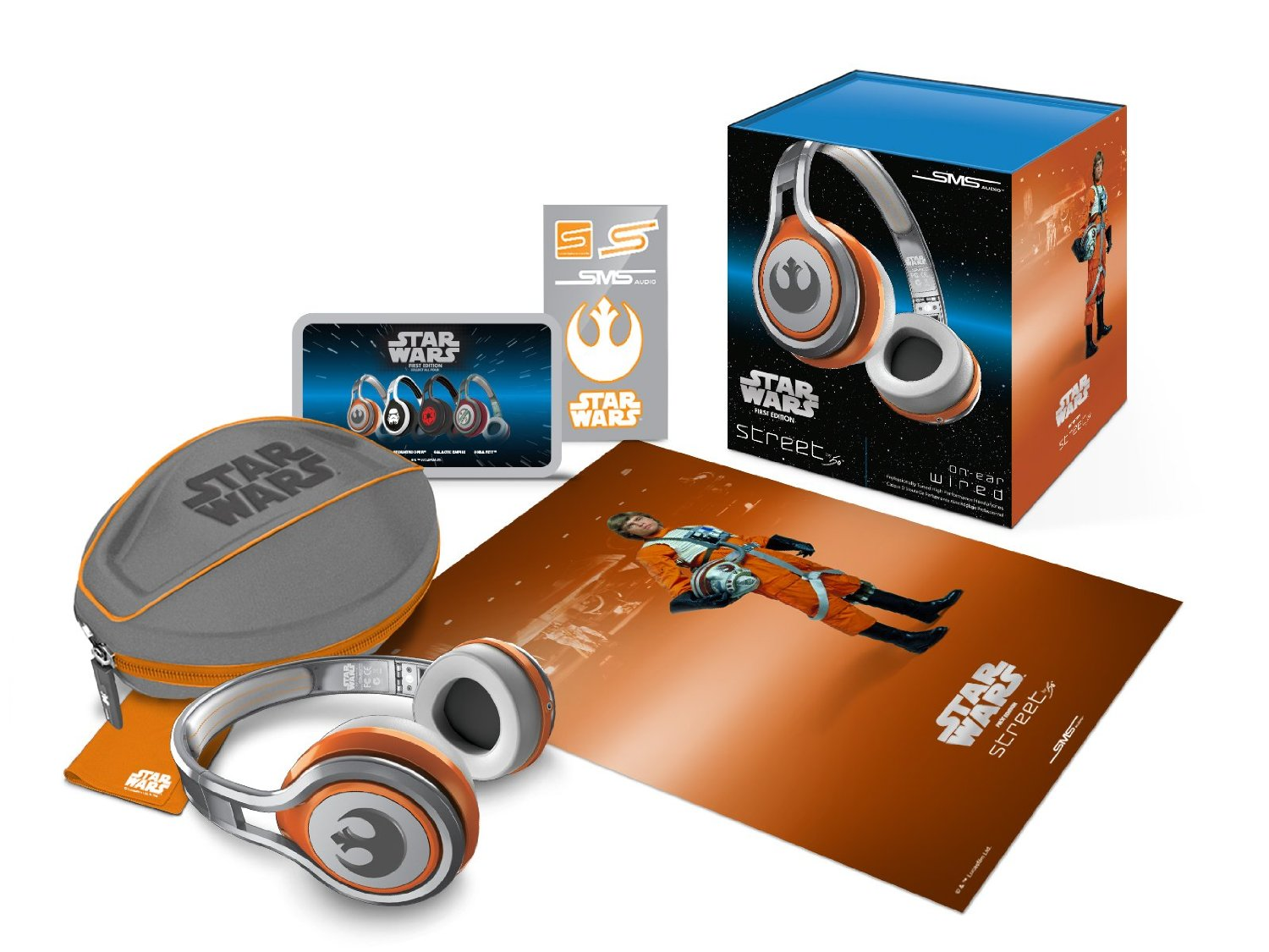 SMS Audio STREET by 50 First Edition Star Wars On Ear Headphones Stormtrooper (20)