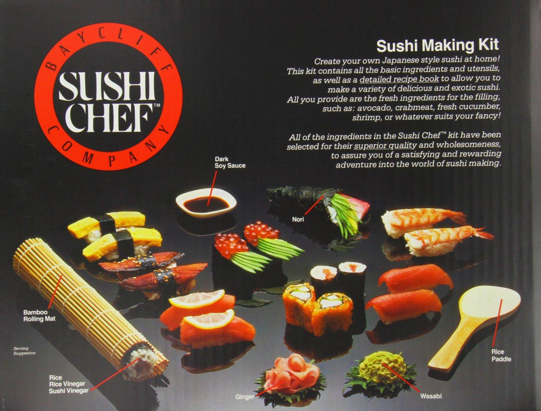 Sushi Chef Sushi Making Kit (1)