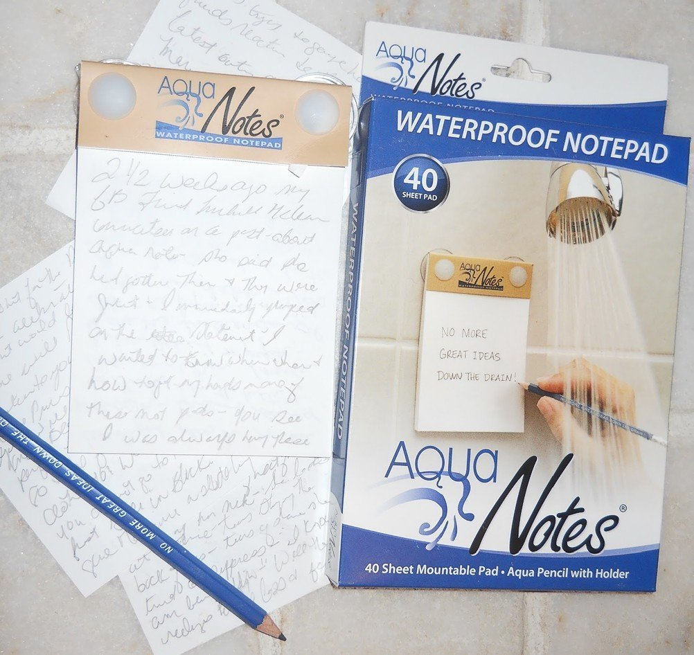 AquaNotes Waterproof Paper and Pencil (1)