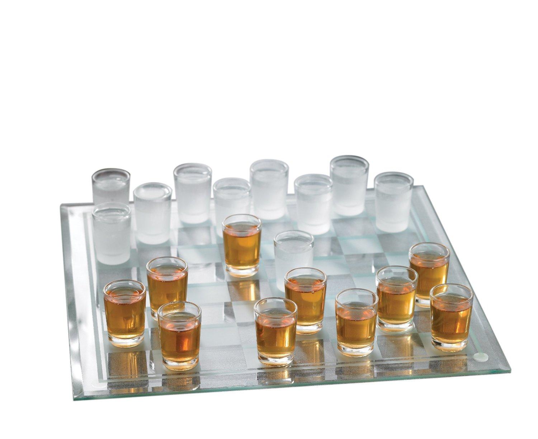 Checkers Shot Glass Bar Game Set (1)
