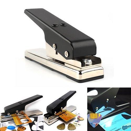 Econoled Guitar Plectrum Pick Press Plastic Card Hole Punch Picks Maker Cutter DIY Machine (6)