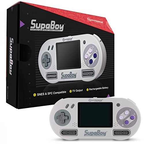 if the gamer you are buying for loves old school games and systems this is the perfect gift for them it is essentially a portable super nintendo